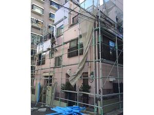 外壁修繕工事 着工